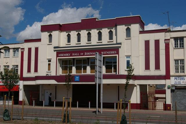 Former cinema, Bowes Road