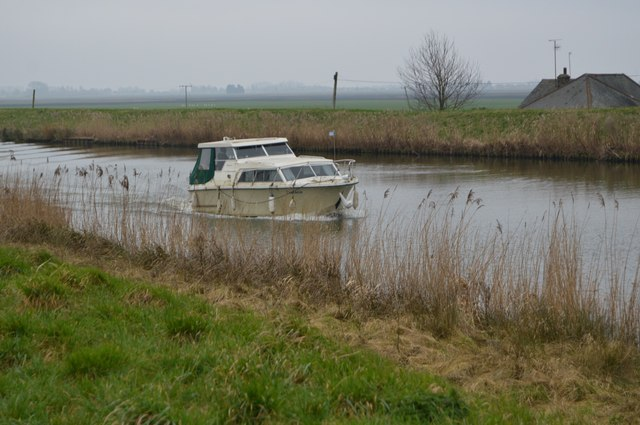 Boat on the Great Ouse
