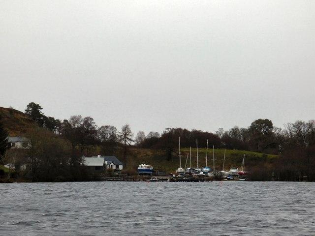 Pier at Inchmurrin