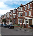 SX9980 : Three-storey houses, Alston Terrace, Exmouth by Jaggery