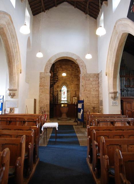 Tower arch, Whittingham church