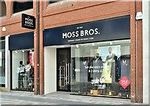 J3374 : Moss Bros, Belfast (August 2017) by Albert Bridge