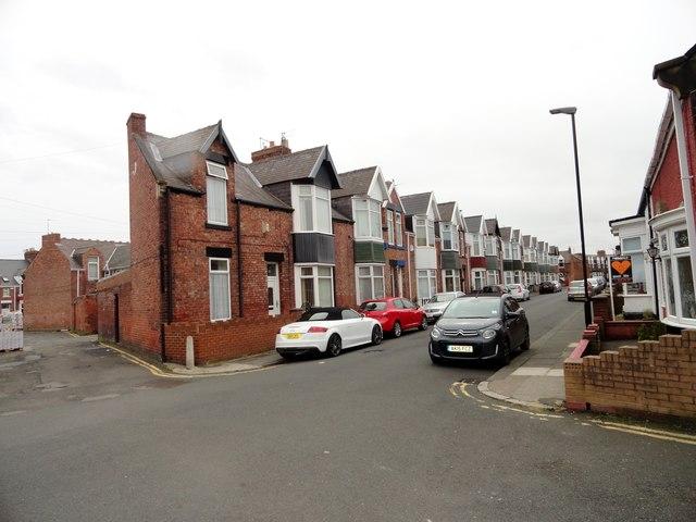 Co-operative Terrace Sunderland