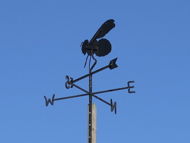 Weather vane, Chain Bridge Honey Farm
