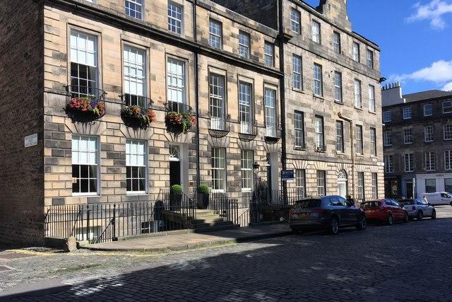 Houses on Northumberland Street
