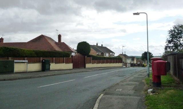 Desborough Road, Selston Green
