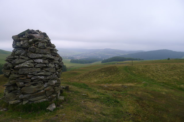 Cairn by the Southern Upland Way