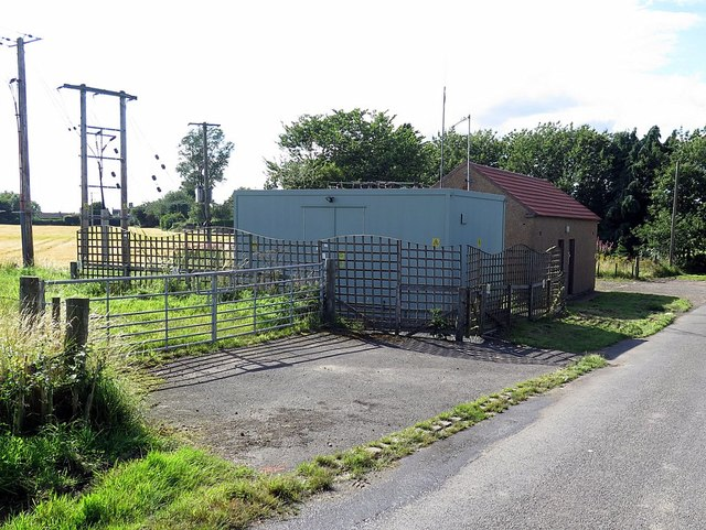 Electrical Sub-station near Horncliffe