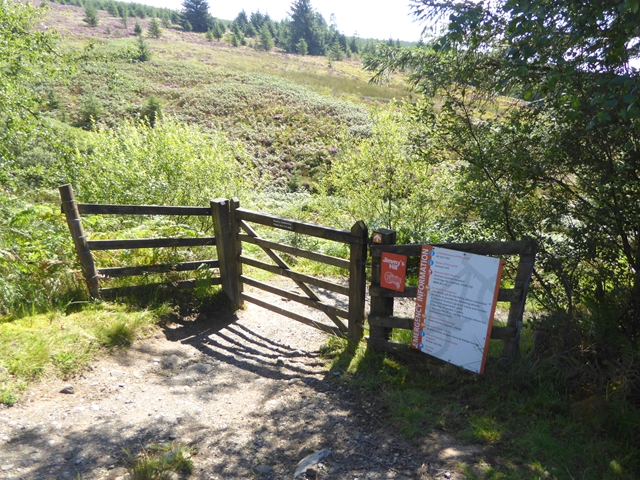 Footpath at Jimmy's Hill