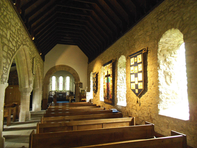 St  Mary, Conistone - nave