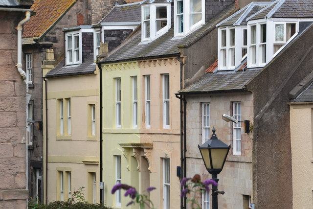 Houses in Palace Street, Berwick-upon-Tweed