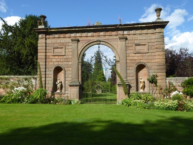 The Bowling Green Arch at Chillington Hall