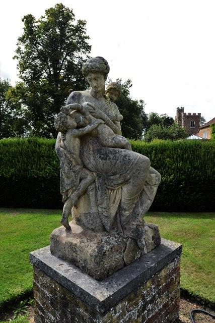 Dorney Court: Sculpture