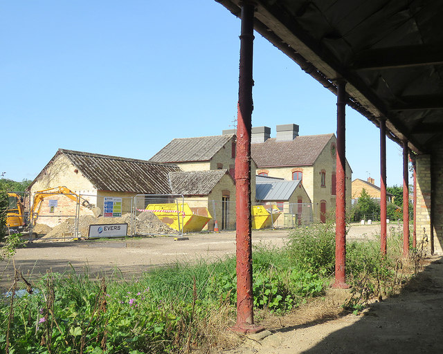 Building work at Stapleford Granary