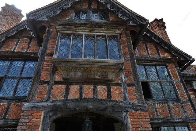 Dorney Court: The main entrance (detail)