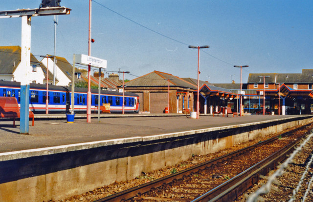 Littlehampton station, 1997