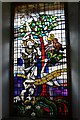 SU9279 : Dorney Court: Church of St. James the Less: Window dedicated to Mabel Stoyner by Michael Garlick
