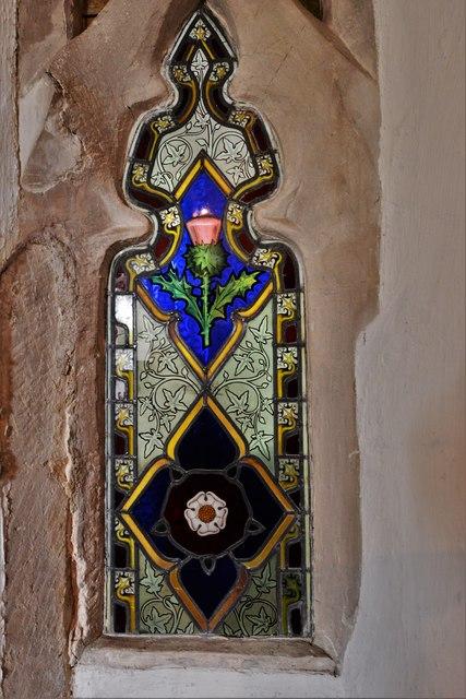 Dorney Court: Church of St. James the Less: Early Tudor window