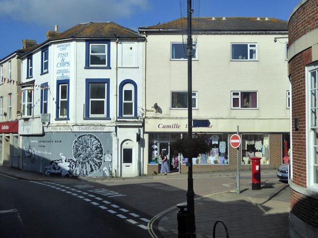 Corner of High Street and York Road, Sandown