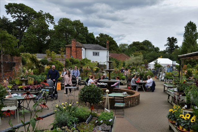 Dorney Court Kitchen Garden: Plant sales area 2