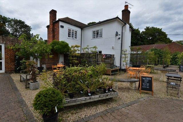 Dorney Court Kitchen Garden: Plant sales area 3
