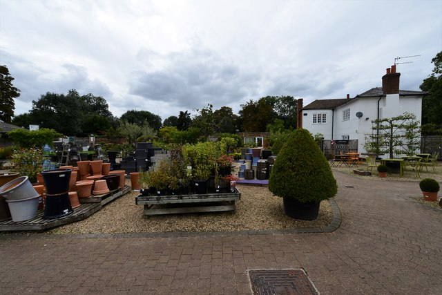 Dorney Court Kitchen Garden: Plant sales area 4