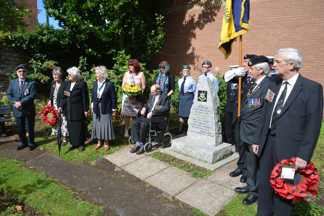 Tiverton : Burma Star Memorial
