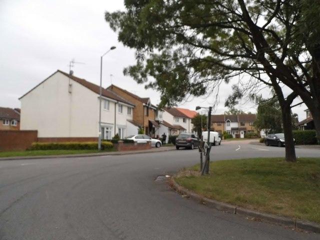 Roundabout on Parsloe Road, Jack's Hatch