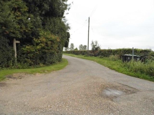 Track to Spencer's Farm, Magdalen Laver