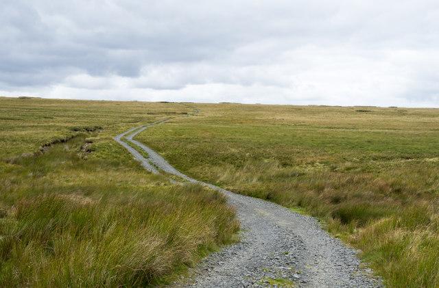 Estate road crossing Mawmon Sike