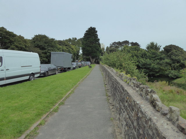 Path at The Croft, Tenby
