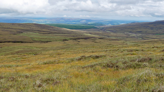 The side of Meall Bhenneit