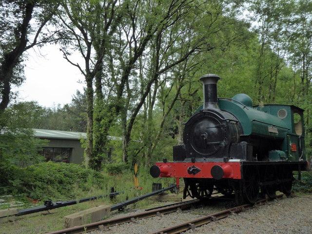Railway Engine at Scolton Park