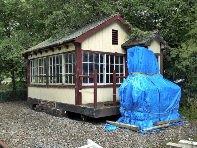 Former Signal Box at Scolton Park