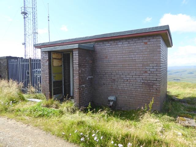 Brick hut on Deadwater Fell