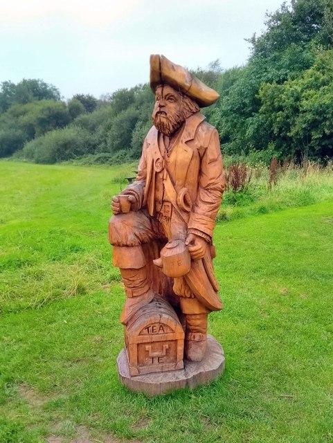 Wooden Sculpture, Scolton Park