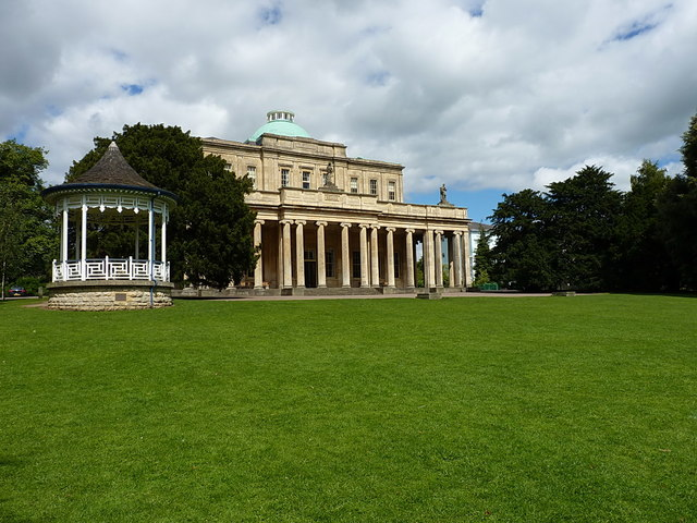 The Pittville Pump Room building
