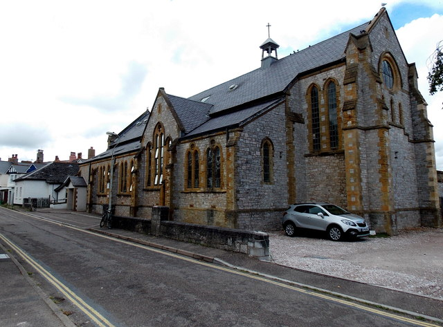 Grade II listed former church, Exmouth