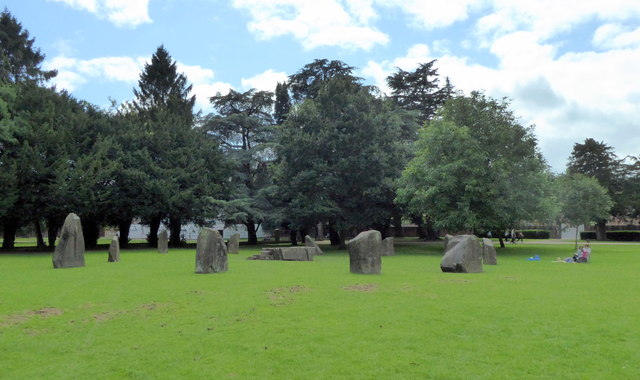 Stone Circle at Tredegar House Country Park