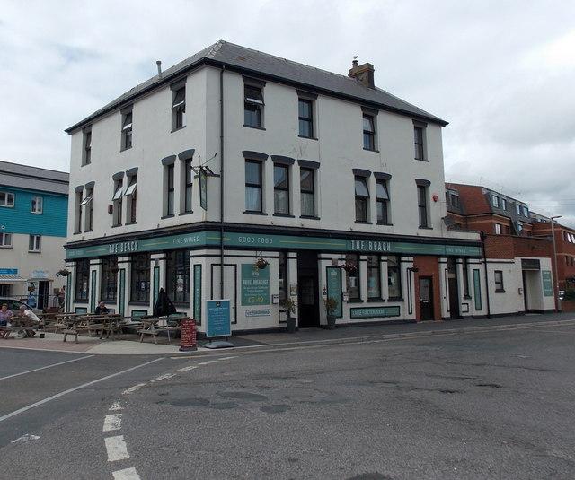 The Beach pub, Exmouth