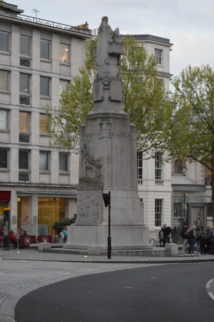 The Edith Cavell Memorial