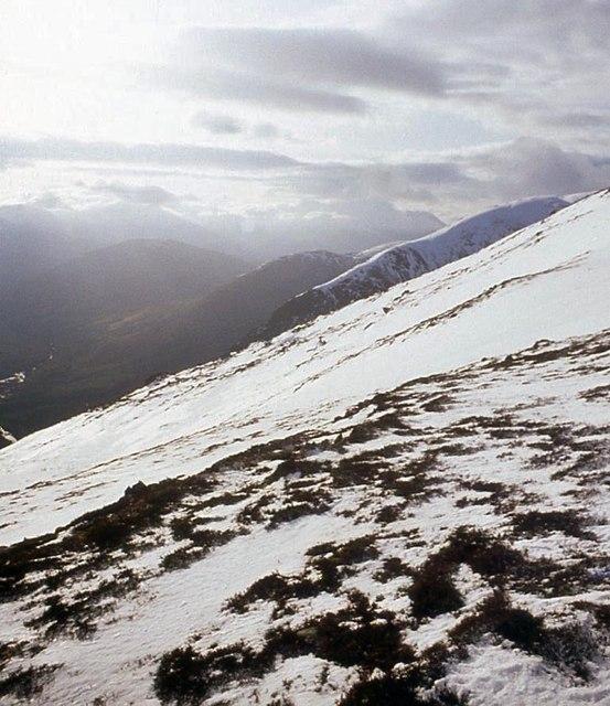 Southeast flank of Beinn Iaruinn