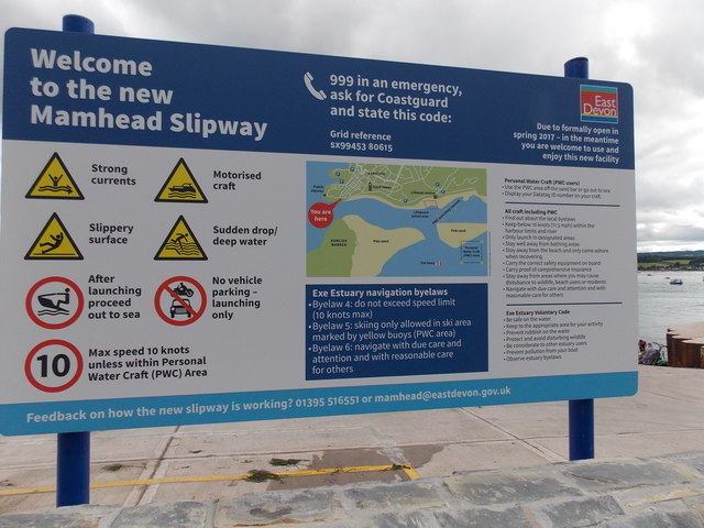 Welcome to the new Mamhead Slipway, Exmouth