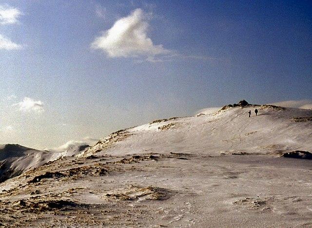 North approach to Beinn Iaruinn