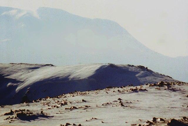 South ridge of Beinn Iaruinn