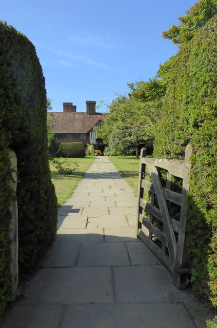 Entrance path to Great Dixter