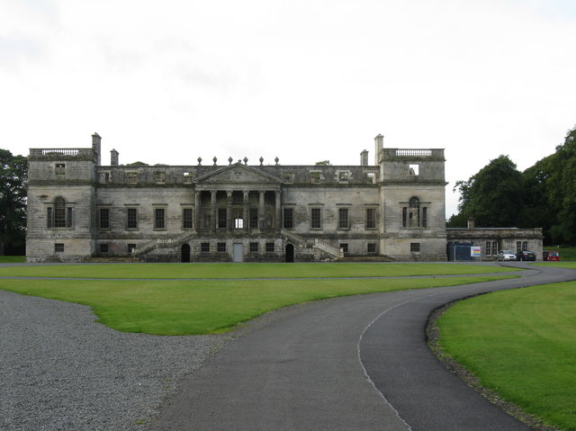 Penicuik House - clear of scaffolding
