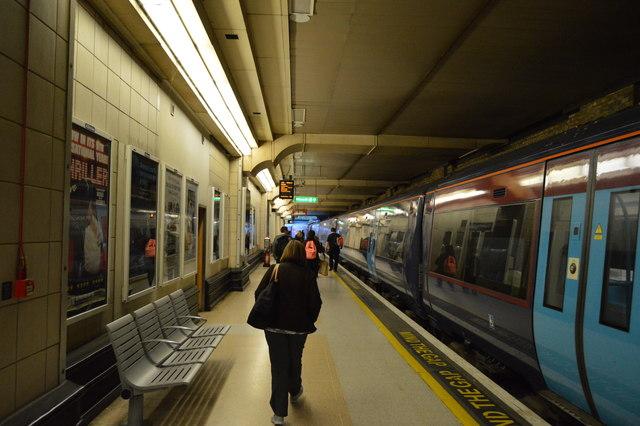 Platform 6, Charing Cross Station