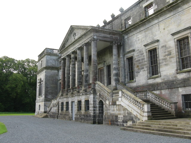 Penicuik House - façade from the north
