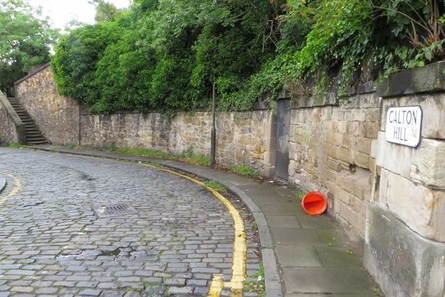 Calton Hill cobbles